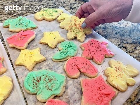 Homemade sugar cookies - gettyimageskorea