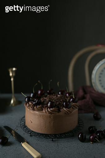 The birthday cake - gettyimageskorea