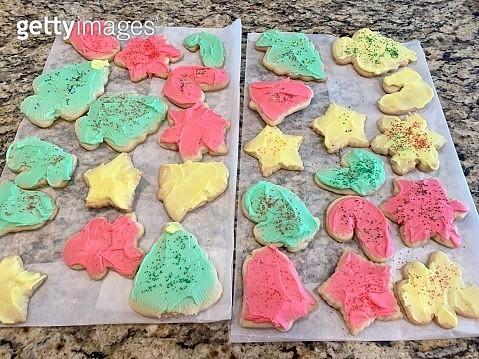 Homemade colored cookies - gettyimageskorea