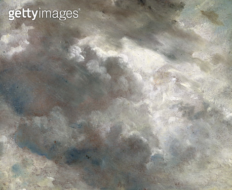 <b>Title</b> : Cloud Study, 1821 (oil on paper laid down on paper)<br><b>Medium</b> : oil on paper laid down on board<br><b>Location</b> : Yale Center for British Art, Paul Mellon Collection, USA<br> - gettyimageskorea