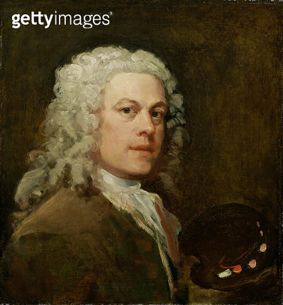 <b>Title</b> : Self Portrait, c.1735-40 (oil on canvas)<br><b>Medium</b> : oil on canvas<br><b>Location</b> : Yale Center for British Art, Paul Mellon Collection, USA<br> - gettyimageskorea