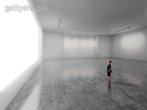 empty gallery, space, white gallery, exhibit, display, choice, art gallery, gallery, simplicity, finance, business presentation, imagination, contemplation, auction, art, choice, white space, artwork, canvas, viewing, location, formal, business, office, c - gettyimageskorea