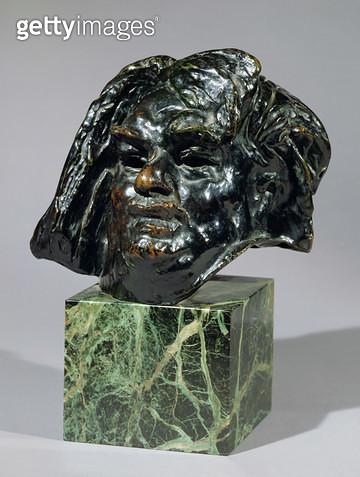 <b>Title</b> : Head of Balzac (bronze)<br><b>Medium</b> : <br><b>Location</b> : Private Collection<br> - gettyimageskorea