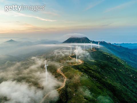 Wind power generation - gettyimageskorea