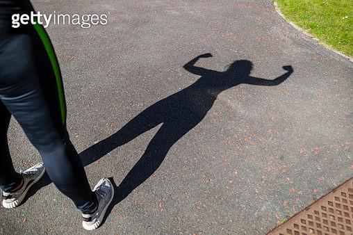 Flexing Her Muscles - gettyimageskorea