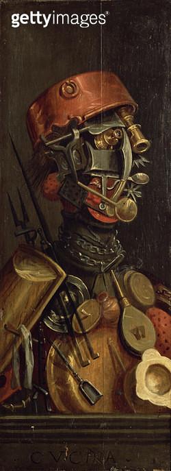 <b>Title</b> : The Cook (oil on panel)<br><b>Medium</b> : <br><b>Location</b> : Rosenborg Castle, Copenhagen, Denmark<br> - gettyimageskorea