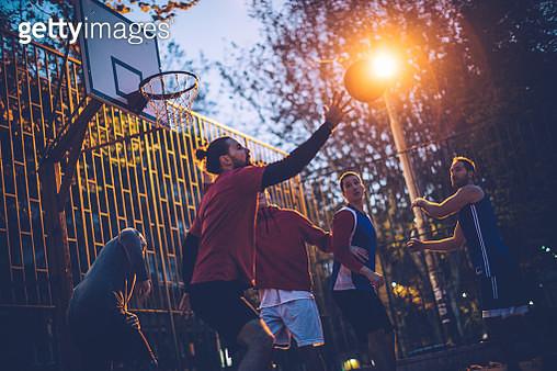 Basketball game - gettyimageskorea