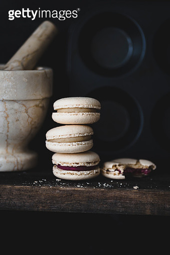 French pastry macarons or macaroon - gettyimageskorea