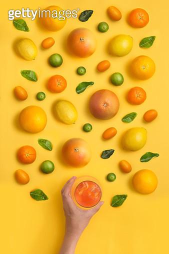 Citrus fruits still life image. - gettyimageskorea
