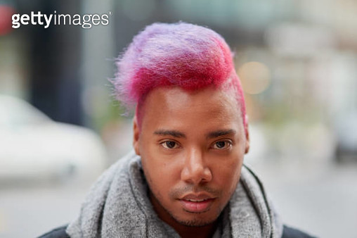 I like my hairstyle to stand out from the crowd - gettyimageskorea
