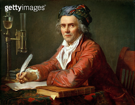 <b>Title</b> : Portrait of Alphonse Leroy, 1783 (oil on canvas)<br><b>Medium</b> : oil on canvas<br><b>Location</b> : Musee Fabre, Montpellier, France<br> - gettyimageskorea