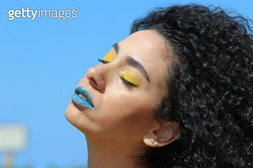 Natural Beauty Against The Wind Part 3 - gettyimageskorea