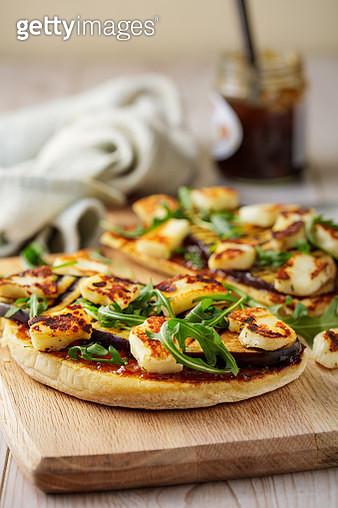 Vegetarian open sandwich - gettyimageskorea