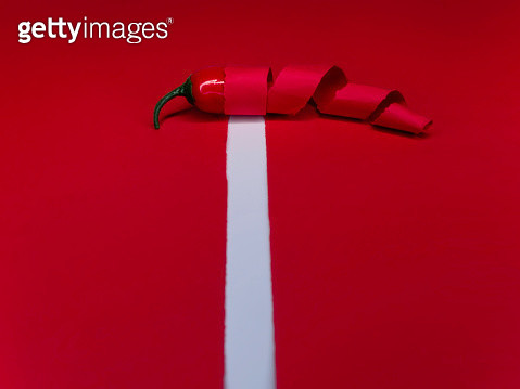 paper and red chili - gettyimageskorea