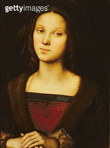 <b>Title</b> : St.Mary Magdalene<br><b>Medium</b> : <br><b>Location</b> : Palazzo Pitti, Florence, Italy<br> - gettyimageskorea