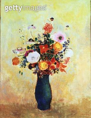 <b>Title</b> : Wildflowers (oil on canvas)<br><b>Medium</b> : oil on canvas<br><b>Location</b> : Kunstmuseum, Wintherthur, Switzerland<br> - gettyimageskorea