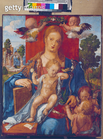 The Madonna with the siskin. 1506. - gettyimageskorea