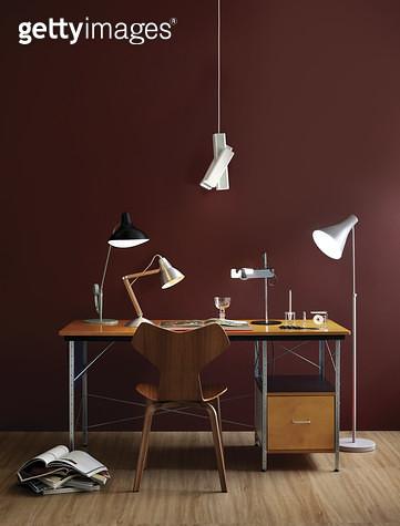 책상과 의자, 인테리어소품, 조명 - gettyimageskorea