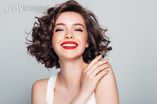 Beautiful woman with make-up - gettyimageskorea