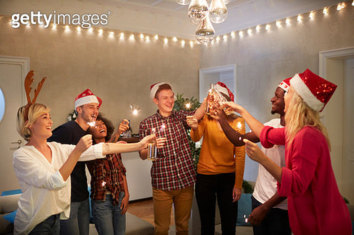 New Year's Party In A Hostel - gettyimageskorea