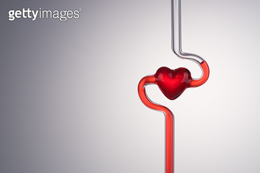 Blood Vessel and Heart Abstract - gettyimageskorea
