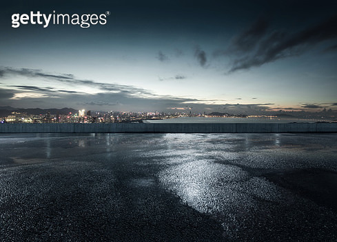 City parking lot and square - gettyimageskorea