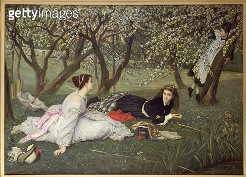Spring. 1865. - gettyimageskorea