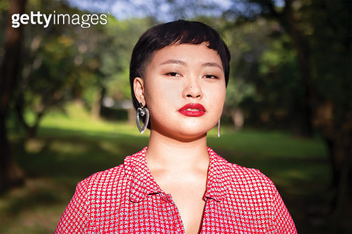 Pansexual, Self-Love and Body Positivity Advocate - gettyimageskorea
