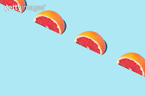 Food Fashion Food Pattern With Grapefruits - gettyimageskorea
