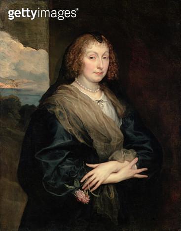 <b>Title</b> : A Lady with a Rose, c.1635-40 (oil on canvas)<br><b>Medium</b> : oil on canvas<br><b>Location</b> : Isabella Stewart Gardner Museum, Boston, MA, USA<br> - gettyimageskorea