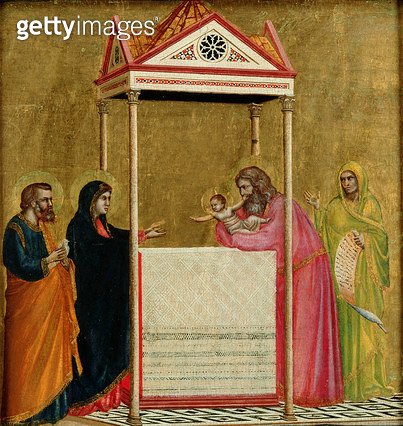 <b>Title</b> : The Presentation of the Infant Jesus in the Temple (gold & tempera on panel)<br><b>Medium</b> : gold and tempera on panel<br><b>Location</b> : Isabella Stewart Gardner Museum, Boston, MA, USA<br> - gettyimageskorea