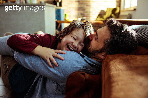 Father and Son - gettyimageskorea