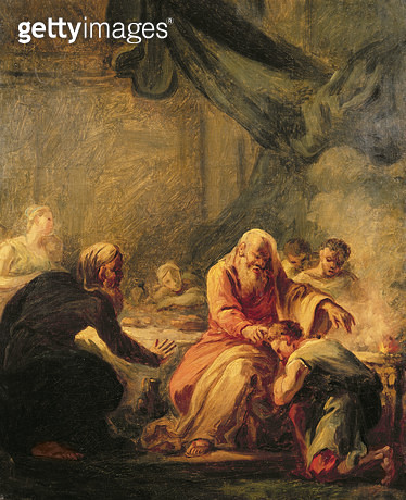 The Prodigal Son (oil on canvas) - gettyimageskorea