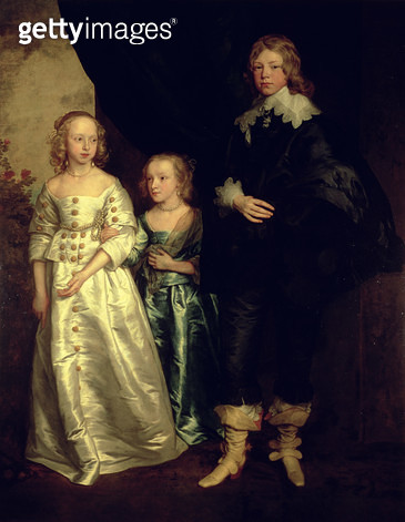 <b>Title</b> : The Children of Thomas Wentworth, 1st Earl of Strafford<br><b>Medium</b> : <br><b>Location</b> : Private Collection<br> - gettyimageskorea