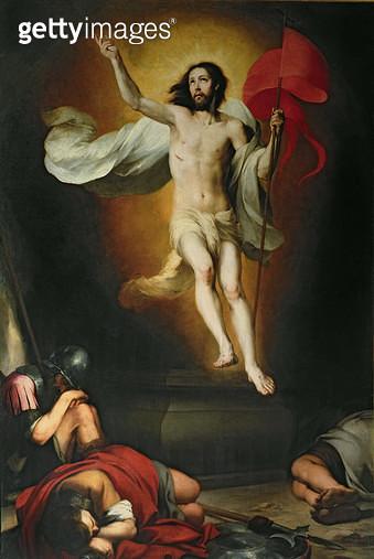 <b>Title</b> : The Resurrection of Christ<br><b>Medium</b> : <br><b>Location</b> : Real Academia de Bellas Artes de San Fernando, Madrid, Spain<br> - gettyimageskorea
