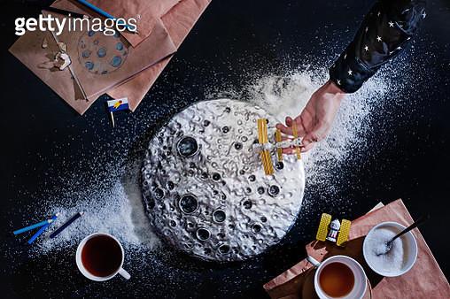 The same moon - gettyimageskorea