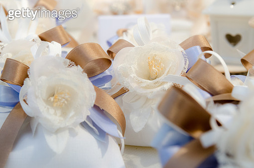 close-up of wedding favours - gettyimageskorea