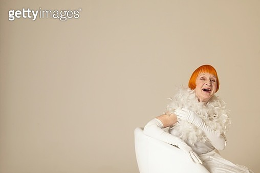 Woman smiling - gettyimageskorea