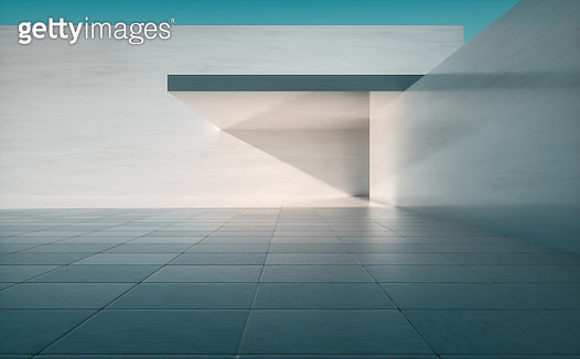 Empty concrete building background - gettyimageskorea