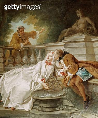 <b>Title</b> : The Alarm, 1723<br><b>Medium</b> : <br><b>Location</b> : Victoria & Albert Museum, London, UK<br> - gettyimageskorea