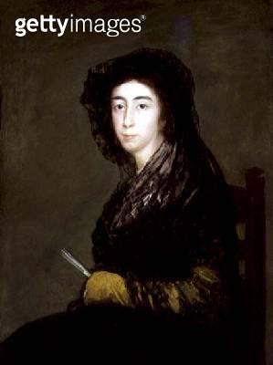 <b>Title</b> : Portrait of Dona Amalia Bonells de Costa, c.1805 (oil on canvas)<br><b>Medium</b> : oil on canvas<br><b>Location</b> : The Detroit Institute of Arts, USA<br> - gettyimageskorea