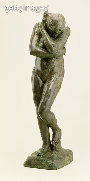 <b>Title</b> : Eve, 1881 (bronze)<br><b>Medium</b> : bronze<br><b>Location</b> : The Detroit Institute of Arts, USA<br> - gettyimageskorea