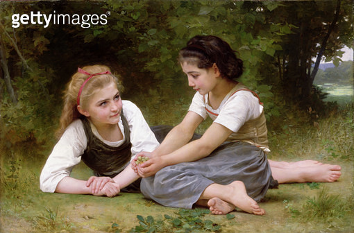 The Nut Gatherers/ 1882 (oil on canvas) - gettyimageskorea