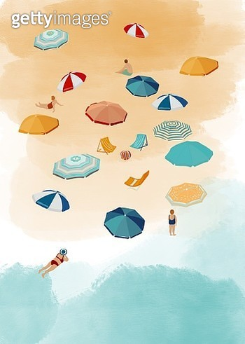 Beach from above. - gettyimageskorea