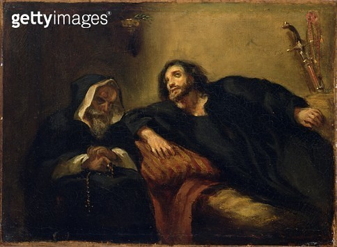 <b>Title</b> : The Confession of the Giaour, 1825-40 (oil on canvas)Additional InfoGreek War of Independence 1821-28; may be inspired by Byron'<br><b>Medium</b> : oil on canvas<br><b>Location</b> : National Gallery of Victoria, Melbourne, Australia<br> - gettyimageskorea