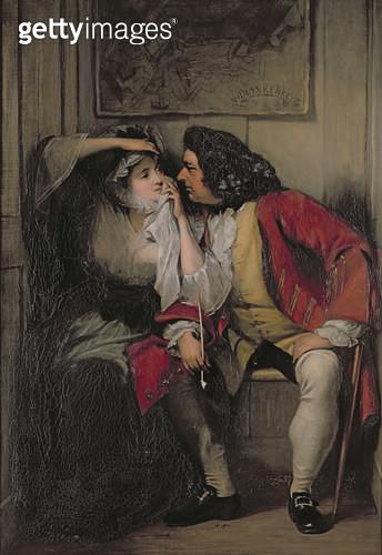 <b>Title</b> : Uncle Toby and Widow Wadman<br><b>Medium</b> : <br><b>Location</b> : Victoria & Albert Museum, London, UK<br> - gettyimageskorea