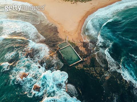 Aerial View Of Sea - gettyimageskorea