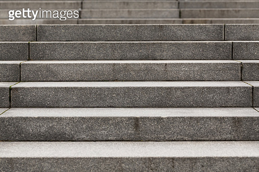 Abstract modern concrete stairs to building - stairway composition - gettyimageskorea