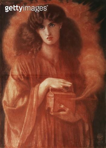 Pandora, 1869 - gettyimageskorea