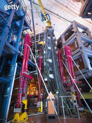 Scientist On Top Of Fusion Reactor - gettyimageskorea